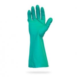 SafetyZone Nitrile Gloves, 13in Green Non-Lined Medium - GNGU-MD-11 - 1pr/bg, 144pr/cs
