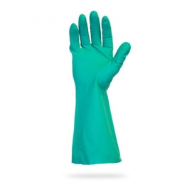 SafetyZone Nitrile Gloves, 13in Green Non-Lined Small - GNGU-SM-11 - 1pr/bg, 144pr/cs