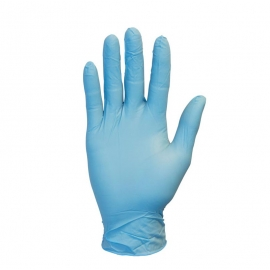 SafetyZone Nitrile Gloves Small 3.7mil, Powder-Free (PF) - GNPRSM1M - 100/bx, 10 bx/cs