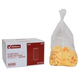 RiteSource 5LB Clear Polybags - GP5 - 500/bx