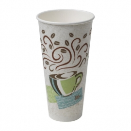 DIXIE PerfecTouch Insulated Hot Coffee Cup 24oz - GP5364CD - 500/cs