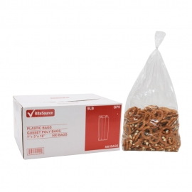 RiteSource 9LB Clear Polybags - GP9 - 500/bx
