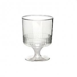 DIXIE Plastic Wine Glass 5oz - GPP1W5 - 500/cs