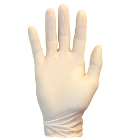 SafetyZone Latex Gloves Small 4mil, Powder-Free (PF) - GRPRSM1T - 100/bx 10 bx/cs,