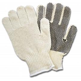 Cotton Sting Knit Gloves with Dots Small - GSBSSM2P20 - 12pr/bg, 240pr/cs