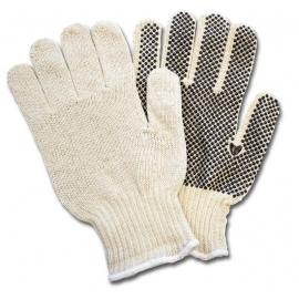 Cotton Sting Knit Gloves with Dots X-Large - GSBSXL2P20 - 12pr/bg, 240pr/cs