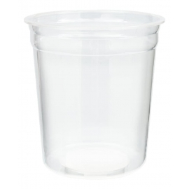 32oz Clear Deli Plastic Containers - HT32-99A - 500/cs