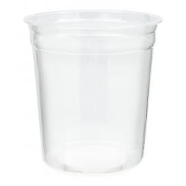 32oz x-L Clear Deli Plastic Containers - HT32XL - 500/cs