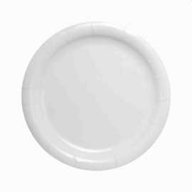 "Dart Solo 9"" Heavy Weight Coated Paper Plates - HWP9 - 500/cs"