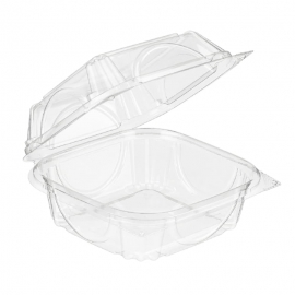 Inline Clear Clamshell Plastic Container 36oz Single Compartment - INLVF8060 - 330/cs