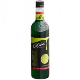Da Vinci Classic Lime Syrup 750ml - L665967 - 2x750ml/cs