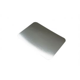 Pactiv Foil Board Lid for 2lb Foil Containers - L708S - 500/cs