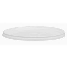 White Tamper Evident Lid for PR1100 Plastic Pail - LR1100
