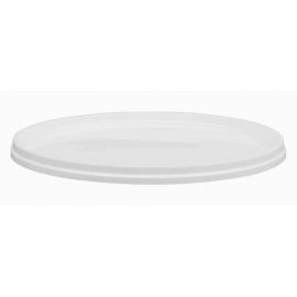 White Lid for 4LT Plastic Pail - LR45