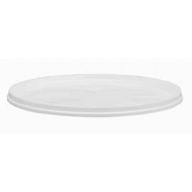 White Lid for PR378 Plastic Pail - LRT0378