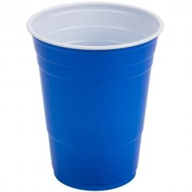Dart Solo Blue 16 oz Party Plastic Cups - P16BRL-00001 - 1000/cs