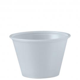 Dart Solo Soufflés Translucent 2.5 oz Plastic Portion Cups - P250N - 250/cs
