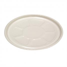 Pactiv Pressware Classic Stoneware Pizza Tray - PCS01705 - 150/cs