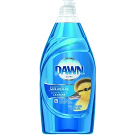 Dawn Ultra Original Scent Liquid Dish Detergent 638ml Blue - PG91544 - 10/cs
