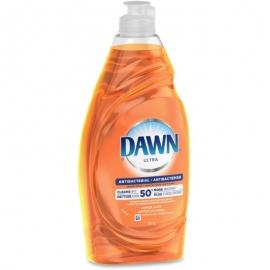 Dawn Ultra Antibacterial Dish Detergent 638ml Orange Fragrance - PG91888 - 10/cs