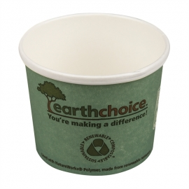 Pactiv EarthChoice Bagasse 12 oz Soup Paper Container - PHSC12ECDI - 500/cs