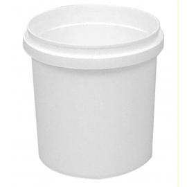 8.4L White Plastic Pail - PR840