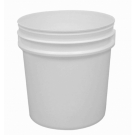 White Pail with Handle - R1700