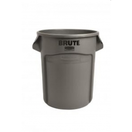 Rubbermaid Brute Waste Container 20gal Without Lid - RCPFG262088GRAY - Each, 6/cs