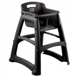 Rubbermaid Sturdy Chair without wheels Child Care Tables& Dispensers - RCPFG780608BLA - Each