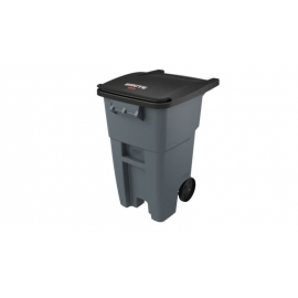 Rubbermaid Brute Roll Out Container 50gal Waste Containers - RCPFG9W2700GRAY - Each