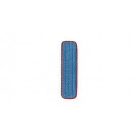 "Rubbermaid Hygen Microfiber Wet Floor Pad 18"" - RCPFGQ41000RD00 - Each, 12/cs"