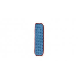 "Rubbermaid Microfiber Hygen Wet Floor Pad 18"" - RCPQ41000RD00 - Each, 12/cs"