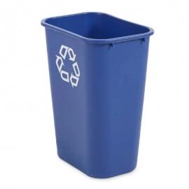 Rubbermaid Blue Wastebasket Vanity Recycling - RP295773BLUE - 12/cs