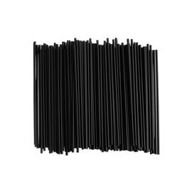 7in Coffee Stirrer Black - ST215B - 500/bx, 24bx/cs