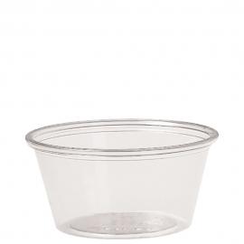 Dart Solo Ultra Clear Soufflés 2 oz Plastic Portion Cups - TH200-0090 - 2500/cs