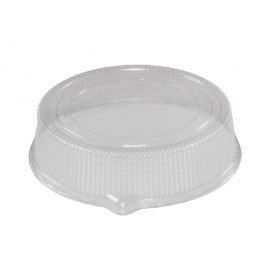 Pactiv Low Oval Dome Lid fits TV7404 - TV7940P - 25/cs