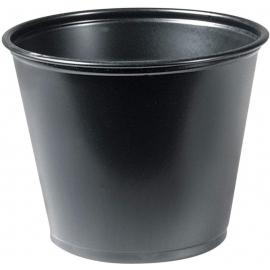 Dart Solo Soufflés Black 5.5 oz Plastic Portion Cups - URR55-0001 - 2500/cs
