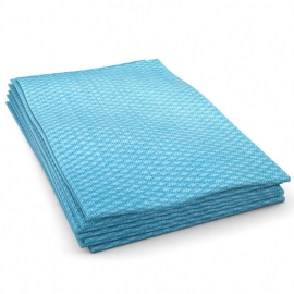 "Cascades PRO Economy Foodservice Towel Blue Hand Towels 12"" x 24"".25 Fold - W902"