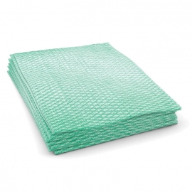 "Cascades PRO Economy Foodservice Towel Green Hand Towels 12"" x 21"".25 Fold - W904"