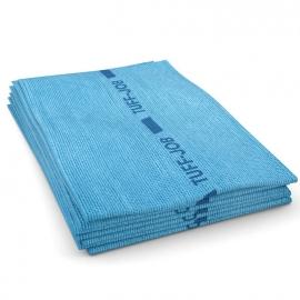 "Cascades PRO Busboy Heavy Foodservice Blue Hand Towels 12"" x 21"".25 Fold - W922"