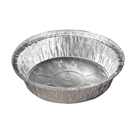 Pactiv Novelis 7in Round Foil Containers - Y52730 - 250/cs