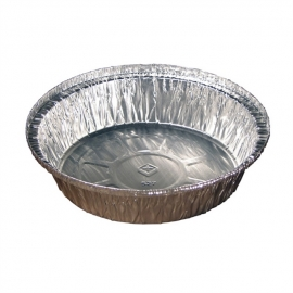 Pactiv Novelis 7in Round Foil Containers - Y52730H - 200/cs