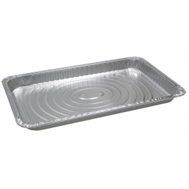 Pactiv Shallow Full Size Steam Pans Fits Lid Y112045 - Y6110XH - 40/cs