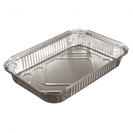 Pactiv 4lb Oblong Foil Containers - Y702145 - 150/cs