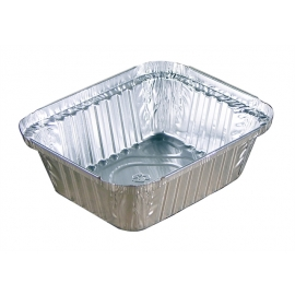 Pactiv 1lb Oblong Foil Containers - Y70530 - 200/cs