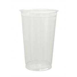 Pactiv 20 oz Clear PET Plastic Cups - YP20CA - 500/cs