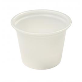Pactiv 1 oz Plastic Portion Cups - YS100 - 5000/cs