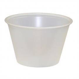 Pactiv 4 oz Translucent Plastic Portion Cups - YS400A - 2400/cs